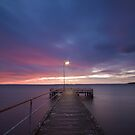 Light at the End of the Pier by Luka Skracic