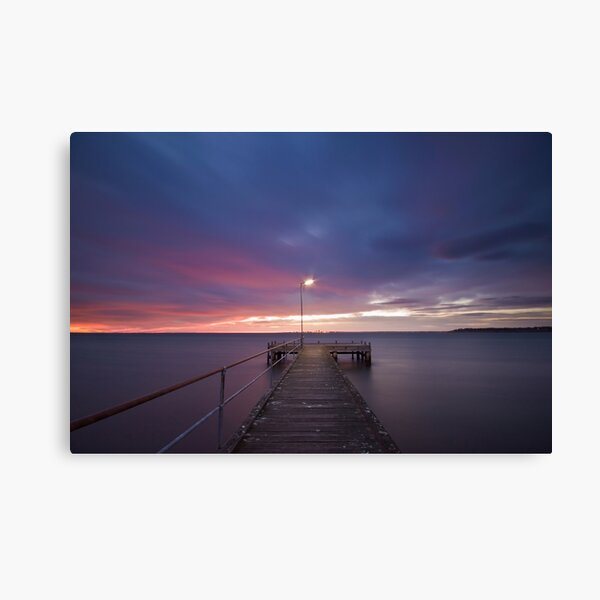 Light at the End of the Pier Canvas Print