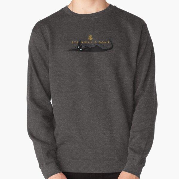 Piano Cat Pullover Sweatshirt