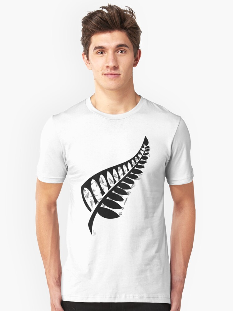 Ferns of a Nation Unisex T-Shirt Front