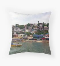 Lamma Island, Hong Kong. Throw Pillow
