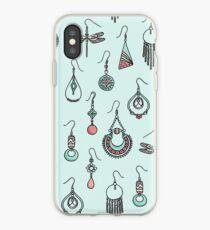 Earrings iPhone Case