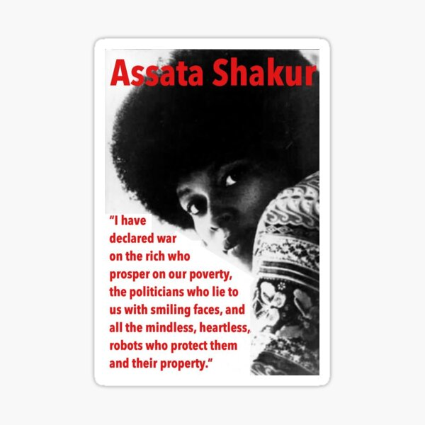 Assata Shakur  Sticker