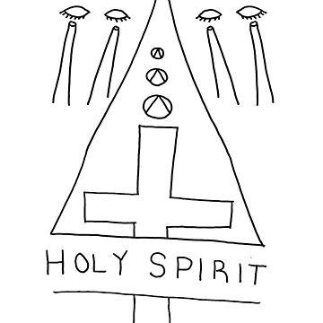 Sister Sky Beam: Holy Spirit Shirt by SisterSkyBeam