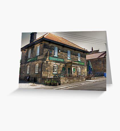 The Station Tavern  - Grosmont Greeting Card