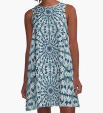 denim ocean A-Line Dress
