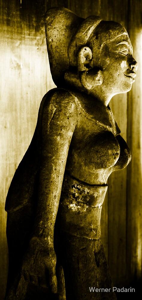 Balinese Statue by Werner Padarin