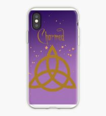 Purple Charmed iPhone Case