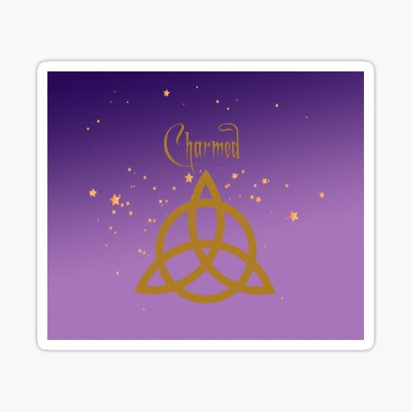 Purple Charmed Pegatina