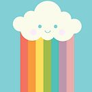 «Nube de arco iris orgulloso» de EuGeniaArt