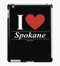 I Love  Spokane - Gift for Proud Washingtonian From  Spokane Washington WA  iPad-Hülle & Klebefolie