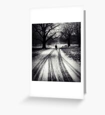 The Season of Isolation Greeting Card