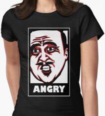 AngryAussie T-Shirt (for dark shirts) Womens Fitted T-Shirt