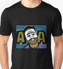 AngryAussie Mask Shirt (for dark shirts) Unisex T-Shirt
