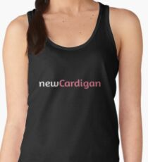 newCardigan Pink Logo Women's Tank Top