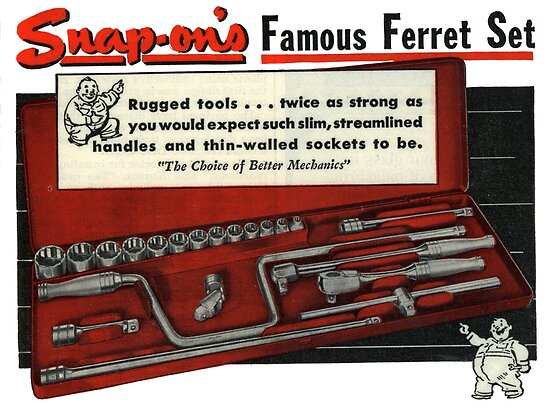 Every Mechanics Favourite Tools Snap On Vintage Perfection