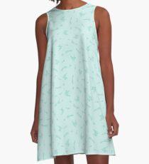 Mythical Silkens A-Line Dress