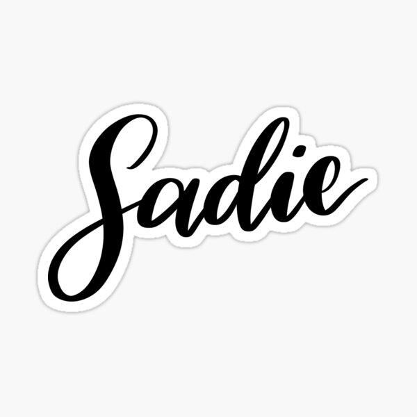 Sadie Sticker
