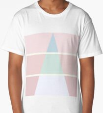 Pastel Triangle Long T-Shirt