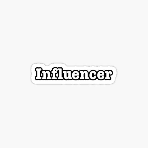 Influencer Sticker