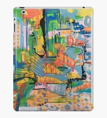 abstract landscape art, pattern, design iPad Case/Skin