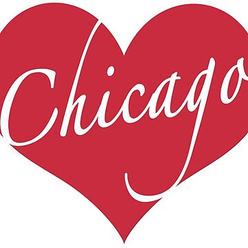 Chicago Heart by MightyFineGoods