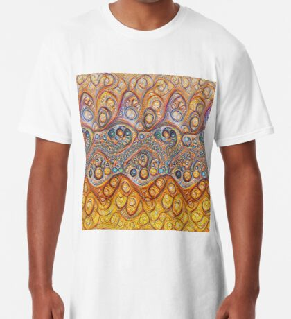 Sand waves #DeepDream #Art Long T-Shirt