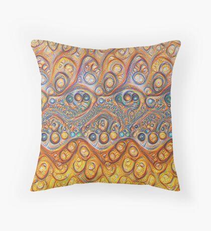 Sand waves #DeepDream #Art Floor Pillow