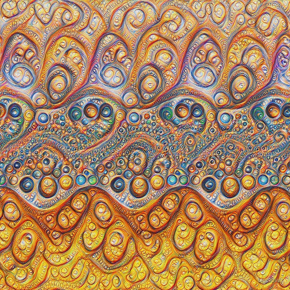 Sand waves #DeepDream #Art by blackhalt
