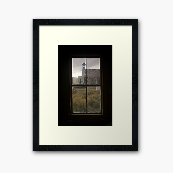 View of Bodie Church From Next Door Framed Art Print