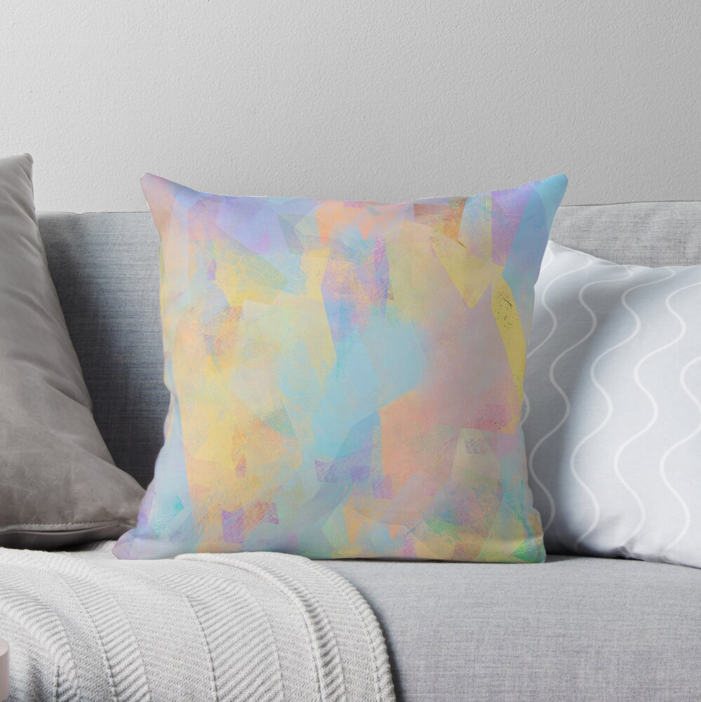 Camouflage C Throw Pillow