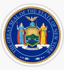 Pegatina Gran Sello del Estado de Nueva York