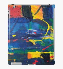 abstract acrylic colorful painting iPad Case/Skin
