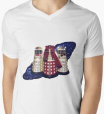 Dalek Squad - Doctor Who Men's V-Neck T-Shirt