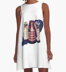 Dalek Squad - Doctor Who A-Line Dress