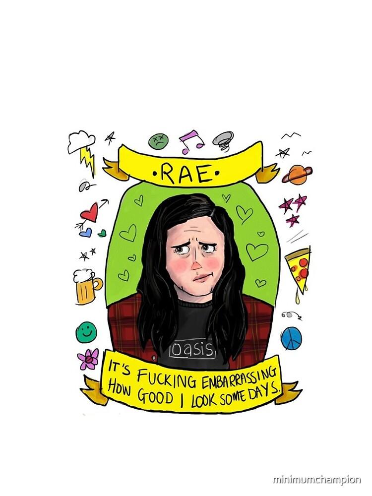 """Rae aus """"My Mad Fat Diary"""" von minimumchampion"""