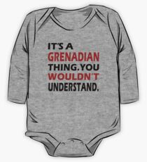 It's a Grenadian Thing (B&R) One Piece - Long Sleeve