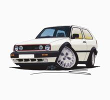 VW Golf GTi (Mk2) White