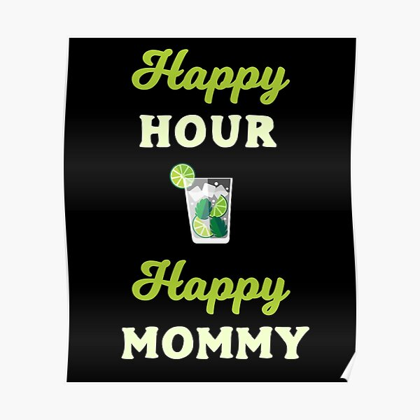 Mother S Day Girl Mom Proud Mom Of A Cute Daughter Poster By