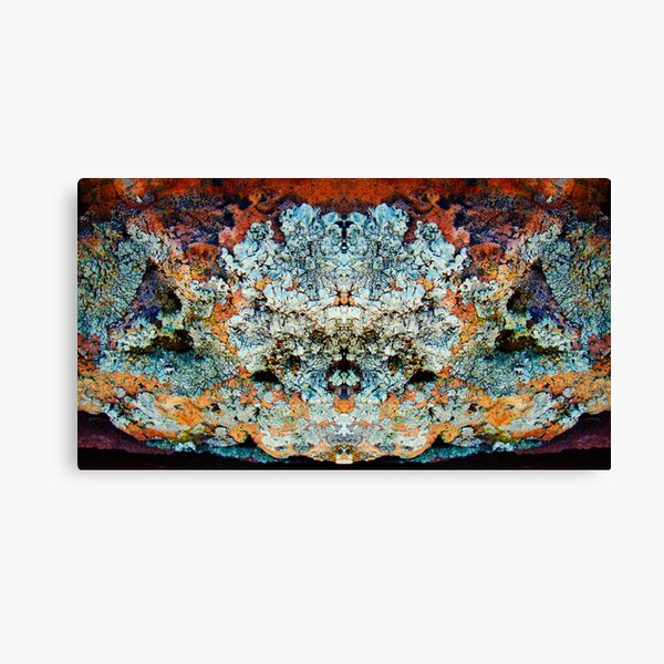 Lichen Goddess Canvas Print