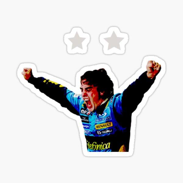 Fernando Alonso Spirit of Champion Pegatina