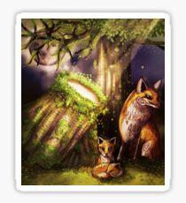 Fox Spirits Sticker