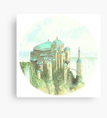 Theed Royal Palace, Naboo, Star Wars Canvas Print