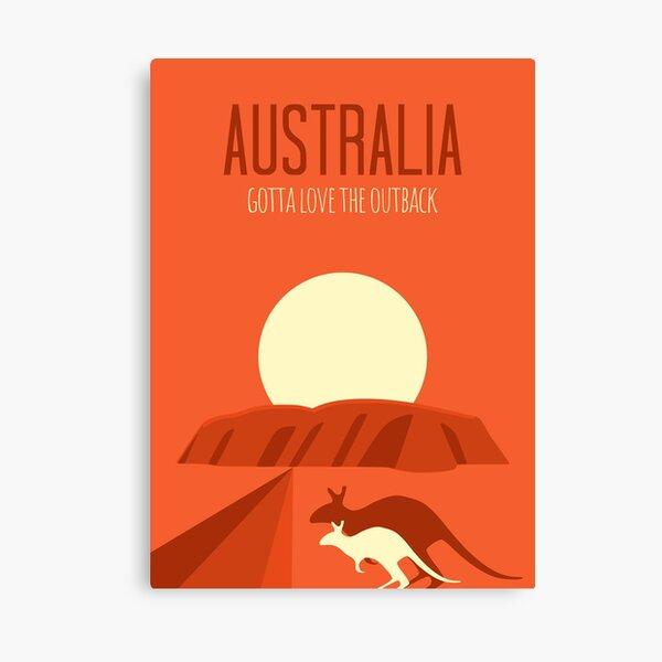 Australia Uluru Outback Canvas Print