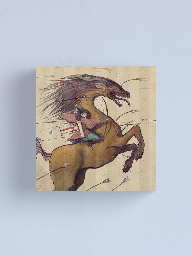 Alternate view of Kirin Canvas Print