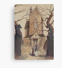 The Silent House Canvas Print