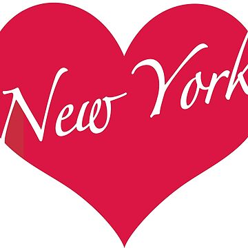 New York Heart by MightyFineGoods