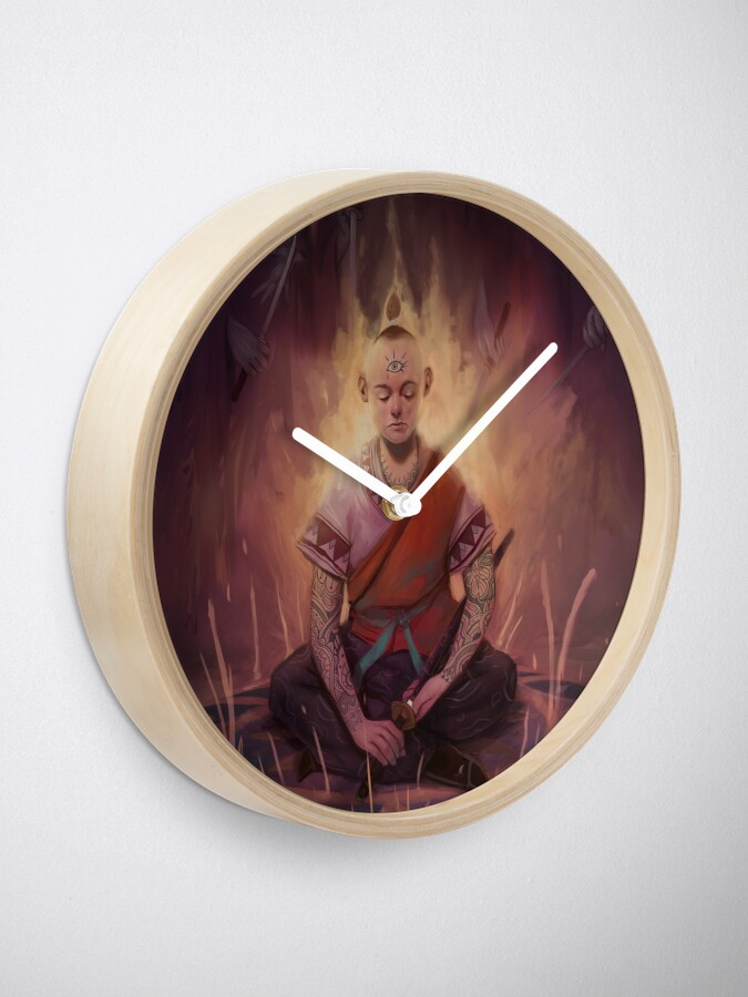 Alternate view of The Circle Clock