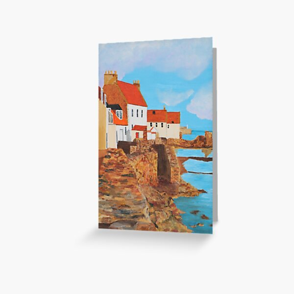 Pittenweem West Shore 2 Greeting Card