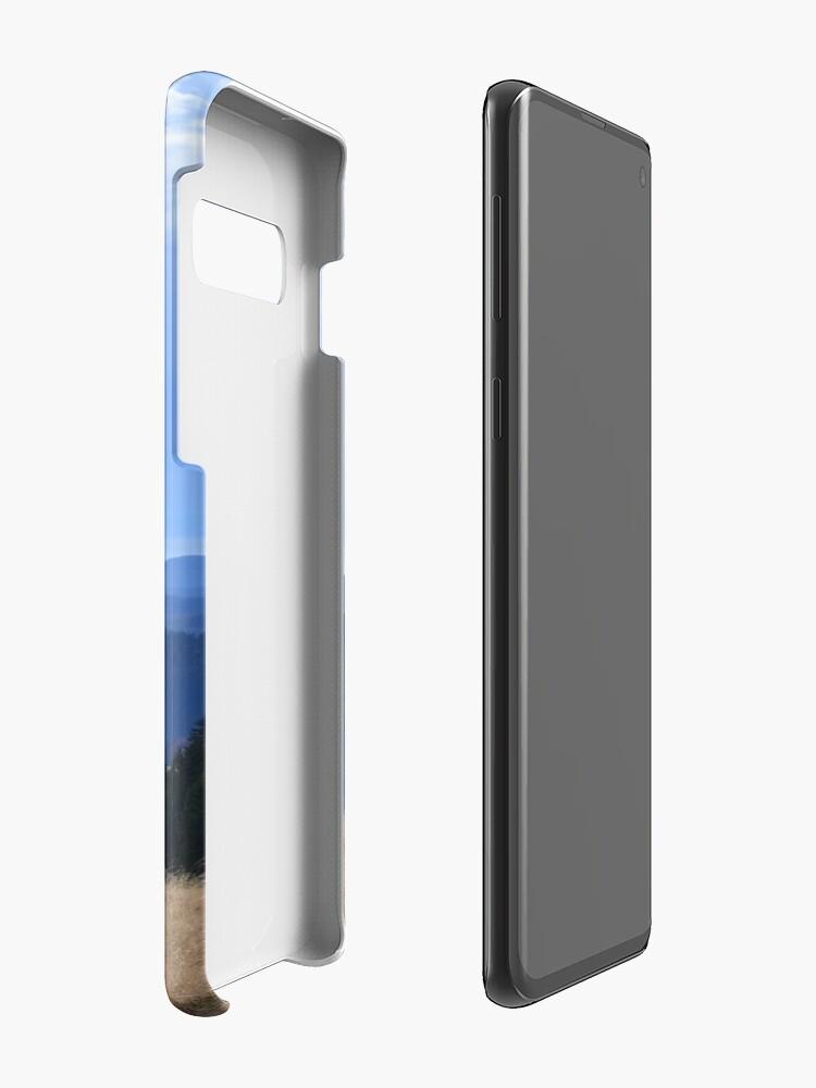 Alternative Ansicht von Schwarzer Wald Hülle & Klebefolie für Samsung Galaxy